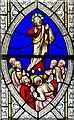 SK8386 : Stained glass window detail, St Helen's church, Lea by Julian P Guffogg