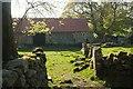 SX7476 : Barn at Emsworthy by Derek Harper
