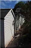 SX9265 : Beach huts, Oddicombe Beach by Derek Harper