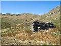 NY4612 : Ruined building on ridge rising Low Raise by Trevor Littlewood