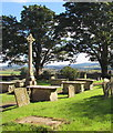 SO6026 : Grade II listed medieval churchyard cross, Brampton Abbotts, Herefordshire by Jaggery