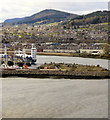 NH6647 : Inverness Harbour, River Ness by David Dixon