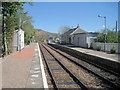 NM6686 : Arisaig railway station, Highland by Nigel Thompson