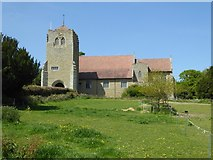 SO4970 : All Saints Church, Richards Castle by Philip Halling