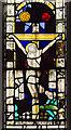 SK8386 : Window detail, St Helen's church, Lea by Julian P Guffogg