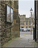 NZ2742 : Durham: approaching Palace Green by John Sutton
