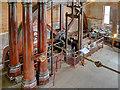 SK2625 : Claymills Victorian Pumping Station, B Engine Flywheel by David Dixon