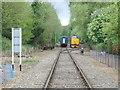 TG1001 : Passing loop on the Mid Norfolk Railway by JThomas