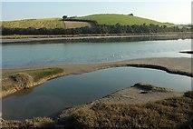 SW9873 : River Camel estuary by Derek Harper