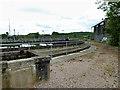 SK2625 : Claymills Sewage Treatment Works by David Dixon