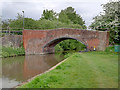 SK2526 : Trent and Mersey Canal, Bridge 29 (Hillfield Lane) by David Dixon
