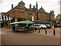 SK2522 : Burton on Trent Market Hall by David Dixon