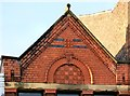 SJ9494 : 84 Market Street: architectural detail by Gerald England