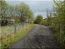 NS4274 : The Crags Circular Path at Milton by Lairich Rig