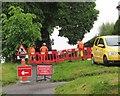 SX9065 : Path works, Old Woods Hill, Torquay by Derek Harper