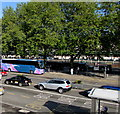 ST3088 : Queensway trees and vehicles, Newport by Jaggery