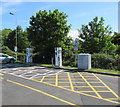 ST3552 : Ecotricity recharging area, Sedgemoor Services Southbound by Jaggery