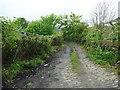 SE0826 : Lumb Lane (Halifax FP736) at Mill Lane by Humphrey Bolton