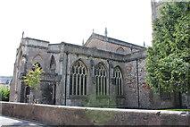 ST5445 : St Cuthbert's Church (2) by Chris' Buet