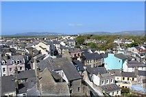 SC2667 : View from Castle Rushen across Castletown by Richard Hoare