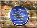 TF3024 : Blue Plaque by Bob Harvey