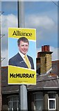 J3731 : Alliance Party Westminster Election Poster on Shimna Road by Eric Jones