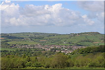 SP0228 : View of Winchcombe from Sudeley Hill by Roger Davies