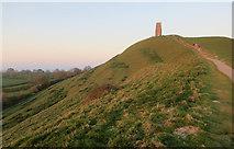ST5138 : Glastonbury Tor by Hugh Venables