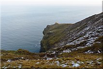 TA1281 : The northern cliffs of Filey Brigg by N Chadwick