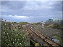 NZ4518 : Railway line east of Thornaby station by Richard Vince