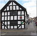 SJ6452 : West side of the Cheshire Cat, Nantwich  by Jaggery
