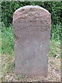SJ3767 : CHESTER 1998 boundary stone on the A548 by John S Turner