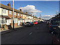 TL0622 : East on Connaught Road, Luton by Robin Stott