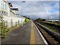 SN6096 : Aberdovey railway station platform by Jaggery