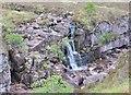 NG8758 : Waterfall on Allt Toll a' Mhadaidh by Jim Barton