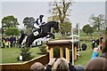 ST8084 : Badminton Horse Trials 2017: cross-country fence 3 - table by Jonathan Hutchins