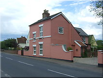 TL8647 : House on High Street, Long Melford by JThomas