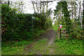 NZ0061 : Path up to Riding Hills by Bill Boaden