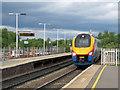 SP7487 : Market Harborough: a St Pancras train by John Sutton