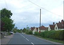 TL8647 : High Street, Long Melford by JThomas