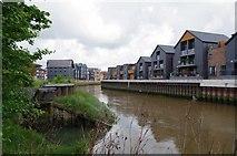 TQ4210 : River Ouse Near Railway Land LNR by Glyn Baker