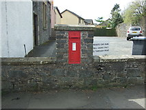 NT5247 : Victorian postbox on West High Street, Lauder by JThomas