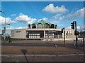 TQ4490 : Fullwell Cross Library, Barkingside by Malc McDonald
