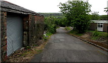 SO1408 : From Duke Street to Iron Row, Tredegar by Jaggery