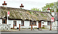J5382 : Thatched cottages, Ballymacormick Road, Bangor (May 2017) by Albert Bridge