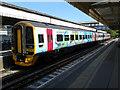 SU5606 : Fareham station by Gareth James