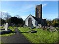 ST0642 : St Decuman's church by Chris Gunns