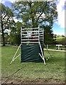 SK2570 : TV camera platform at Chatsworth Horse Trials by Jonathan Hutchins