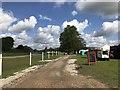 SK2570 : Track at Chatsworth Horse Trials by Jonathan Hutchins