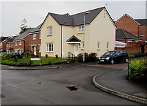 ST3090 : Corner of Westfield Way and Westfield Rise, Malpas, Newport by Jaggery